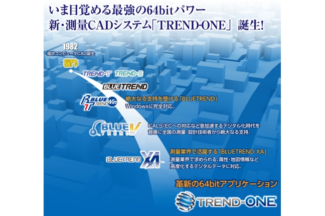 TREND-ONE 測量CADシステム 関連画像